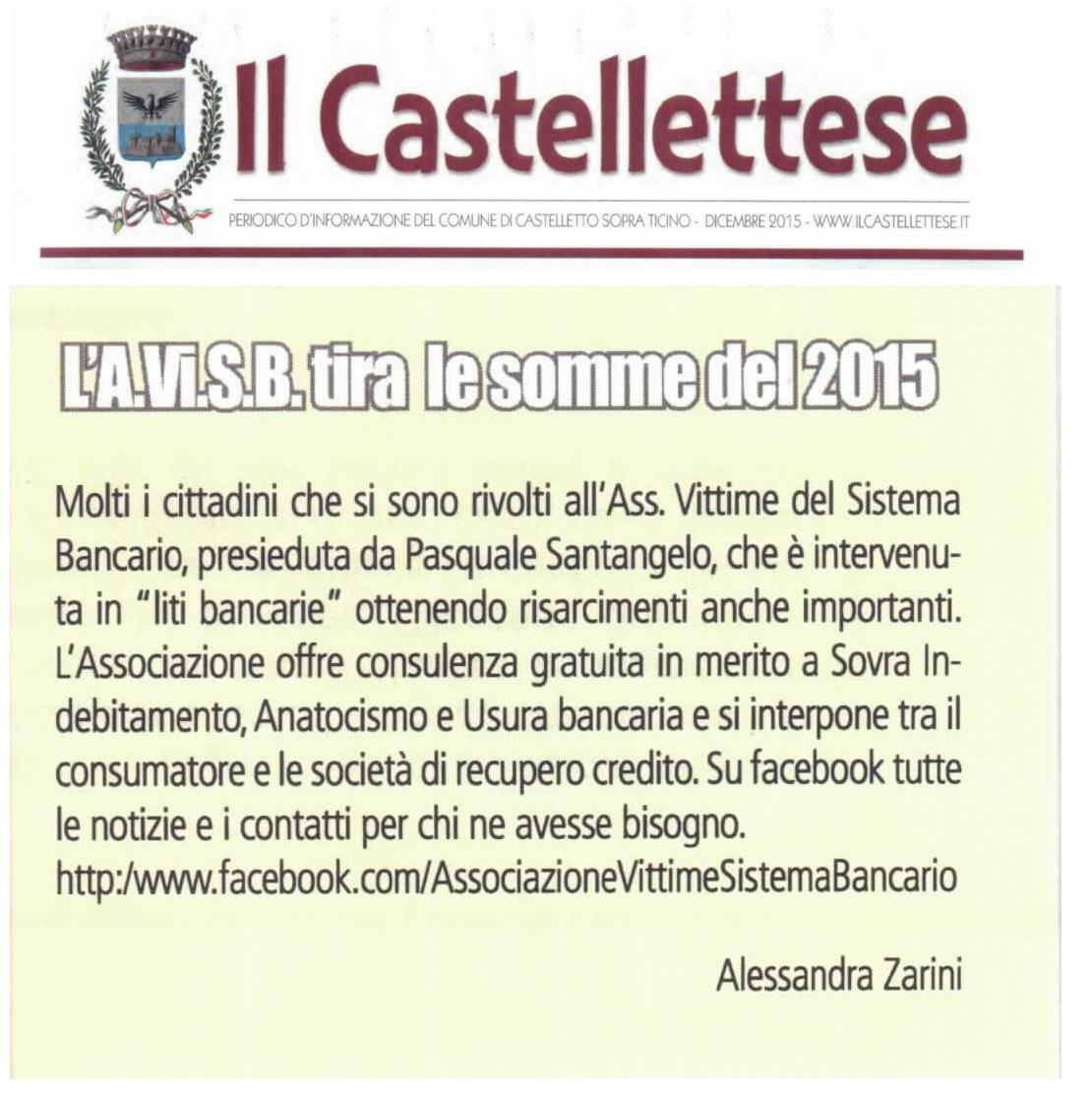 avis giornale comune castelletto ticino dicembre 2015